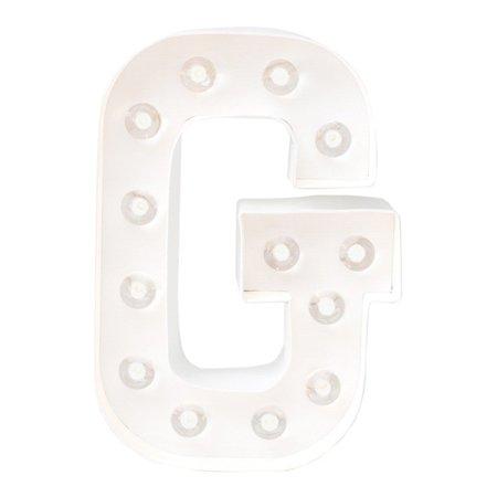Letra G Luminosa