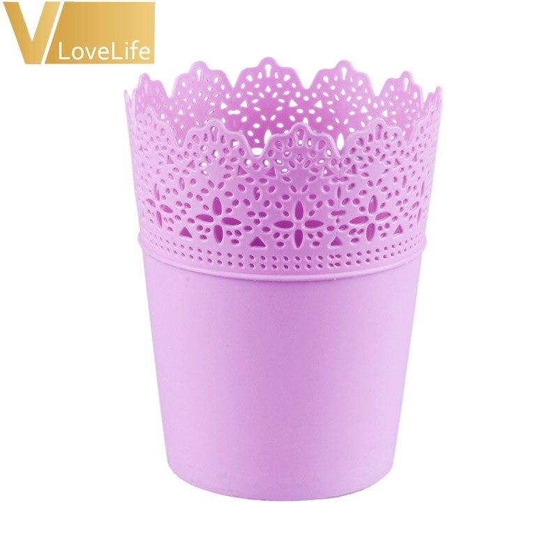 Vaso de Plástico Lilás- Pequeno