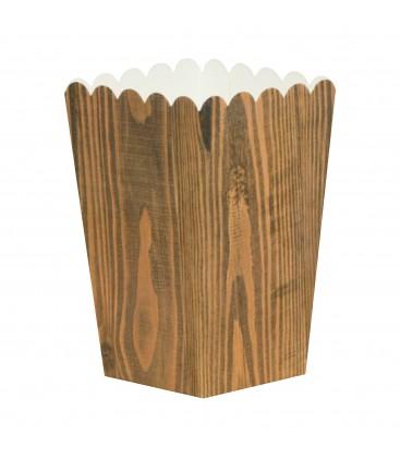 10 Caixas Pipocas Stars Wood