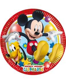 Pratos Disney 18cm 8 unidades - Mickey