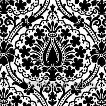 Guardanapos Desenhos Jaipur Preto 33 cm - 20 unidades