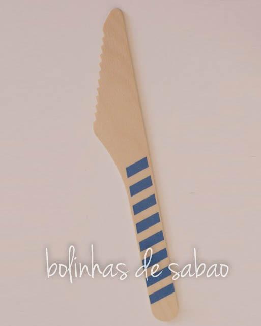 Facas Riscas 10 unidades - Azul