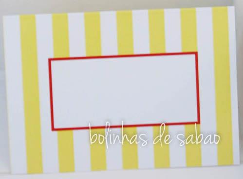 Marcadores Riscas 5 unidades - Amarelo