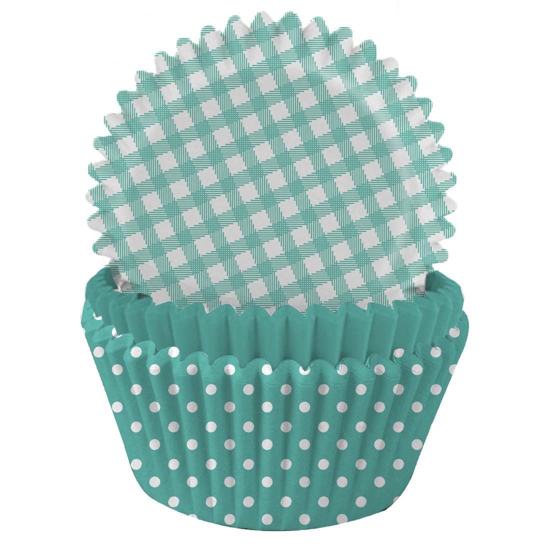 Formas Cupcake - Verde Menta