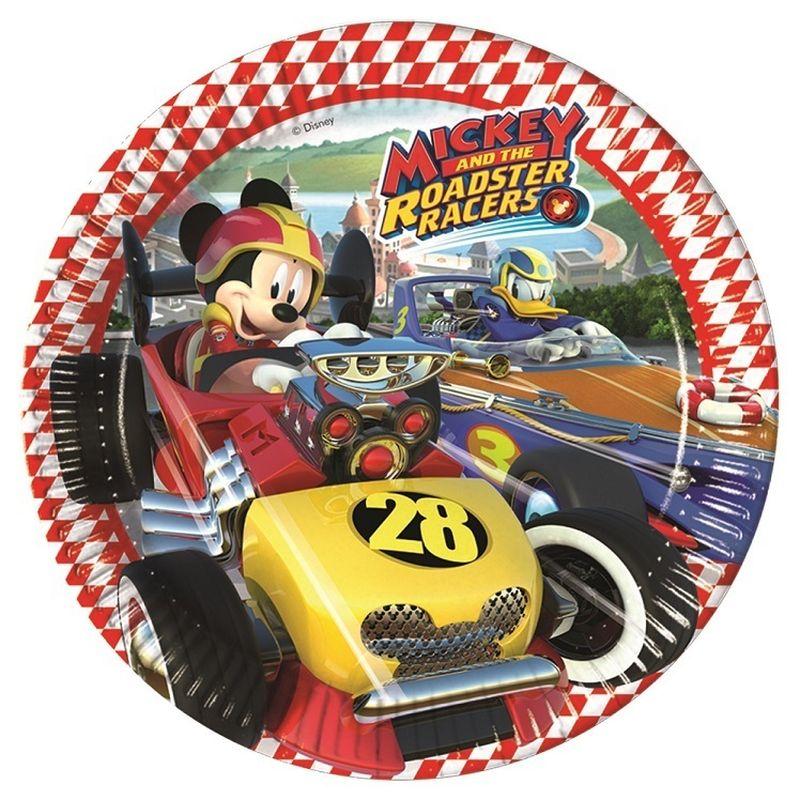 Pratos Mickey e os Super Pilotos - 23 cm