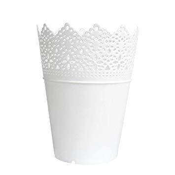 Vaso de Plástico Branco- Pequeno
