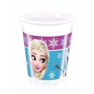 Copos Menina 8 unidades - Frozen