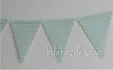 Bandeiras Chevron Menta
