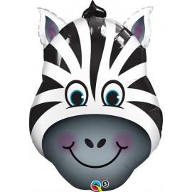 Balão Foil - Zebra - Selva