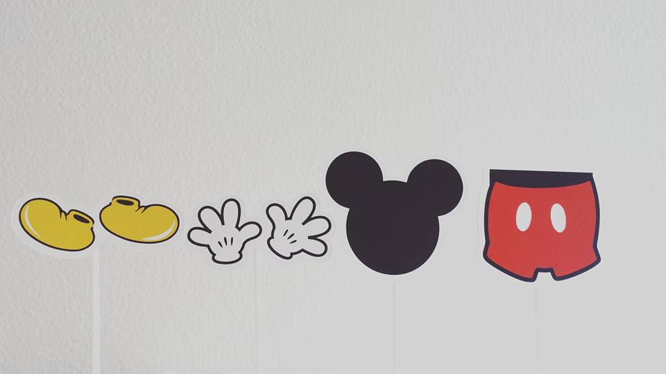 Toppers Mickey - 4 unidades