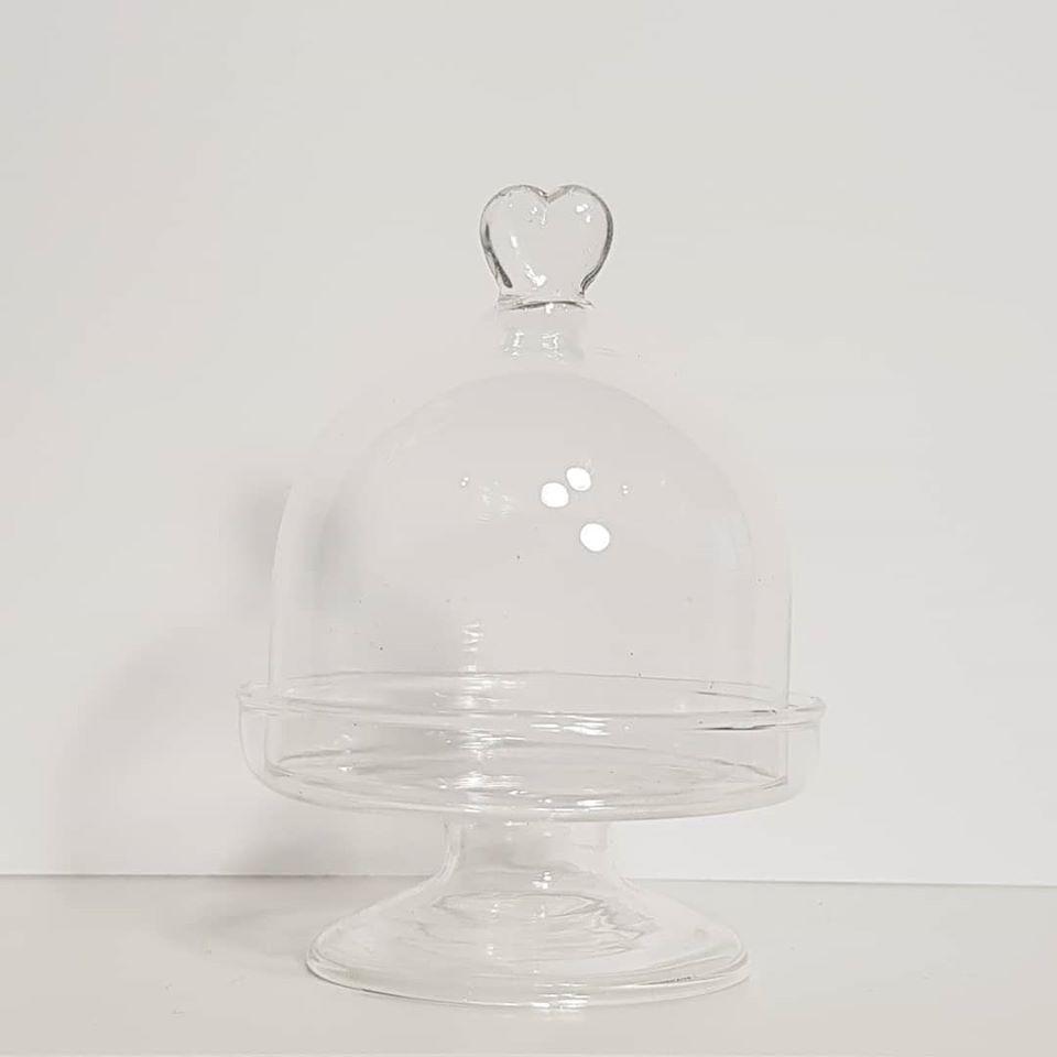 Mini Cakestand Coração