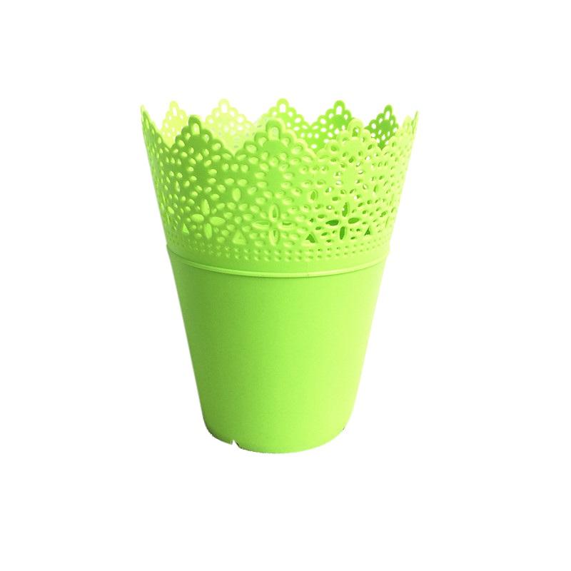 Vaso de Plástico Verde - Médio