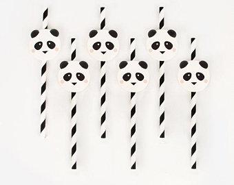 Palhinhas Mini Panda