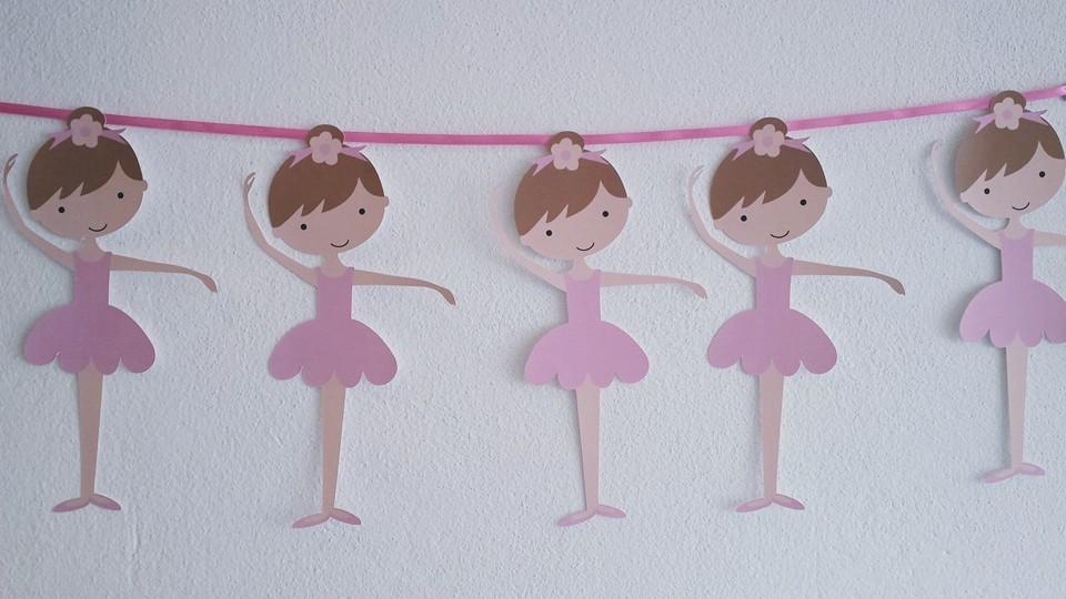 Bandeira Bailarinas - Ballet
