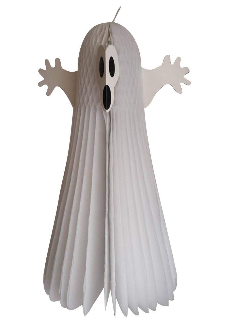 Fantasma Branco de Papel - 75 cm