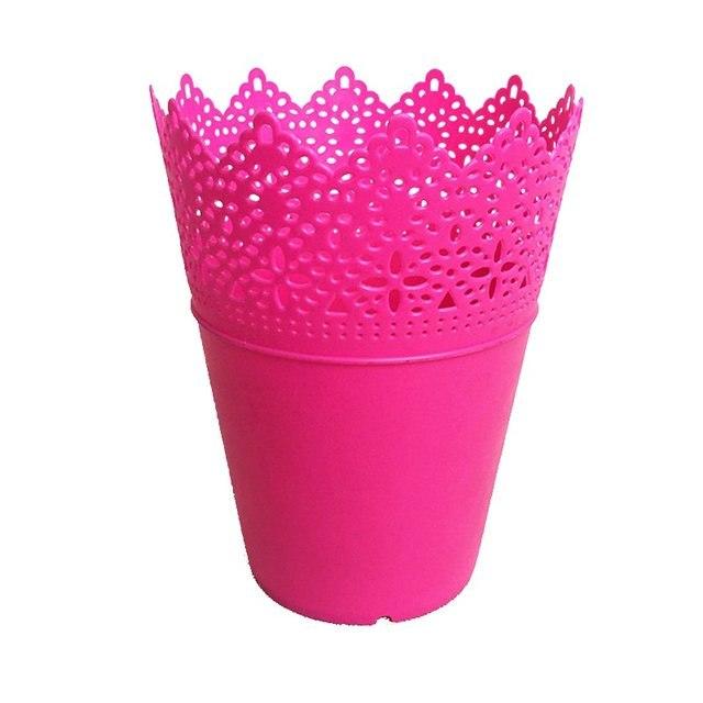 Vaso de Plástico Fúcsia- Pequeno