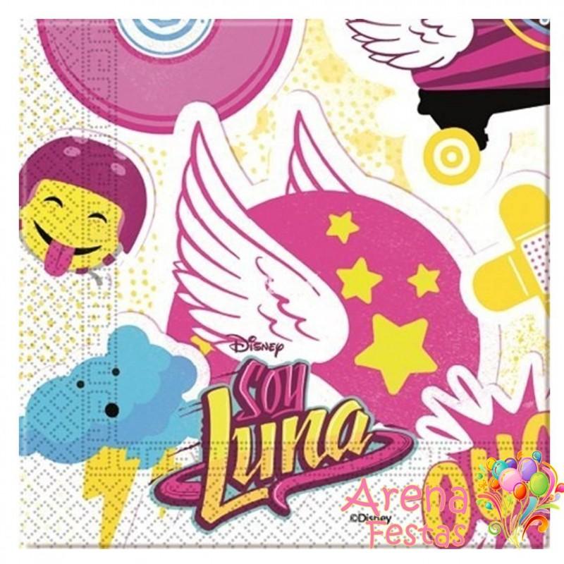 Guardanapos Soy Luna 33cm - 20 unidades