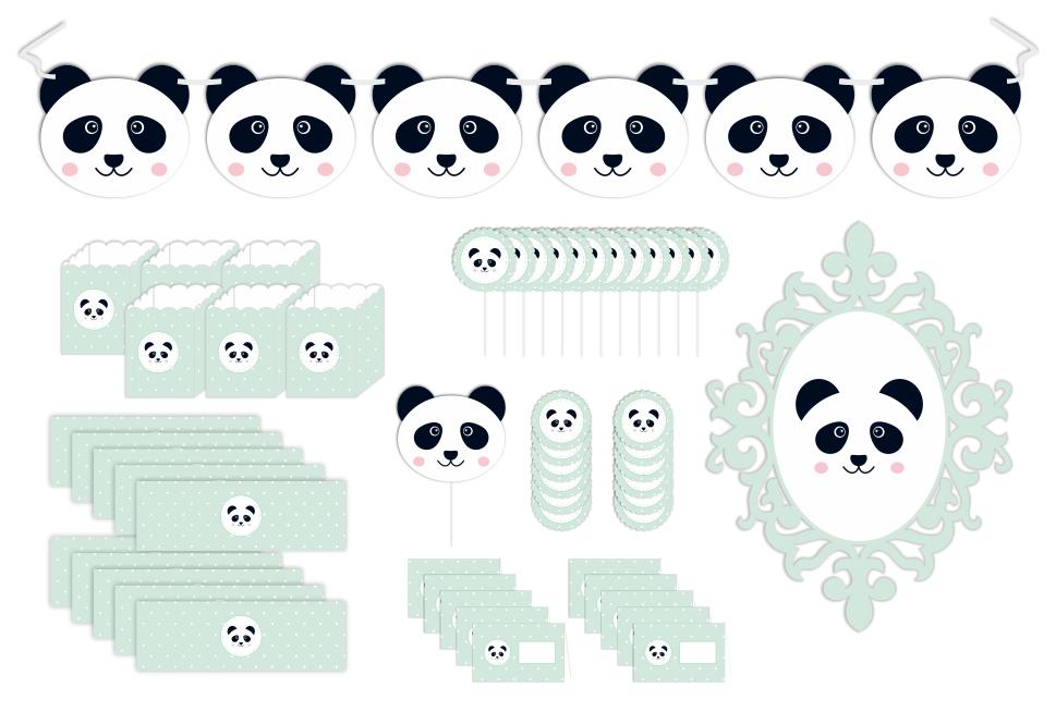 Kit Panda - Menta