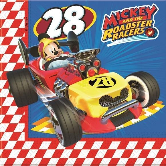 Guardanapos Mickey e os Super Pilotos - 20 Unidades