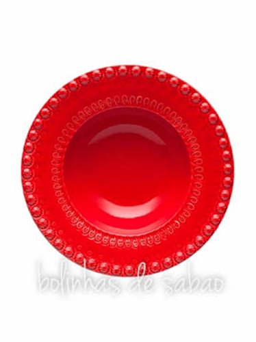 Prato Sopa 21.5 cm - Vermelho