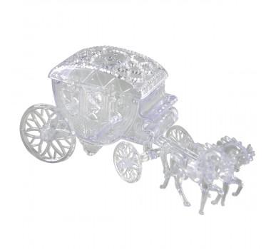 Mini Carruagem Transparente