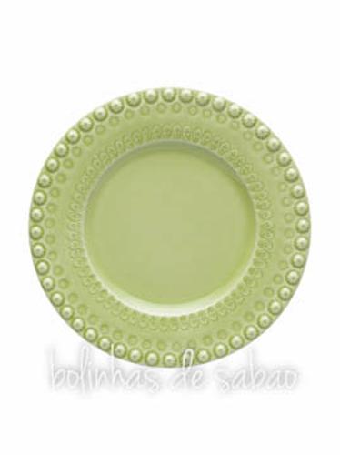 Prato Fruta 22 cm - Verde Alface