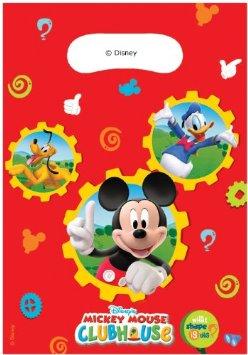 Saquetas 6 unidades - Mickey