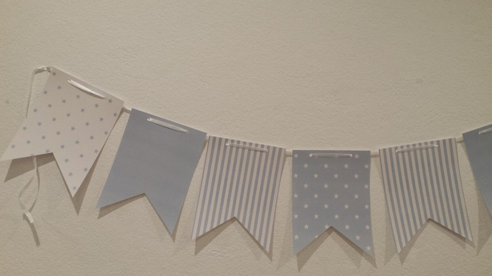 Bandeira Estrelas - Azul Claro