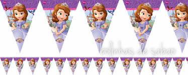 Bandeiras Princesa Sofia Triangulo