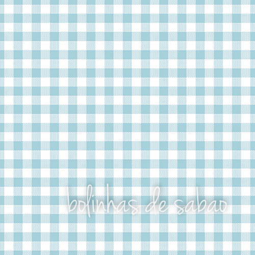 Guardanapos Quadrados Azul Claro 33 cm - 20 unidades