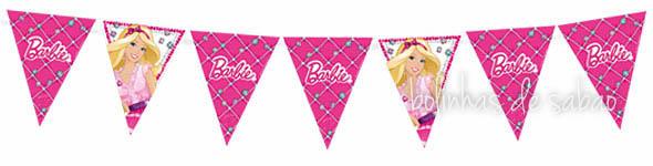Bandeiras Barbie
