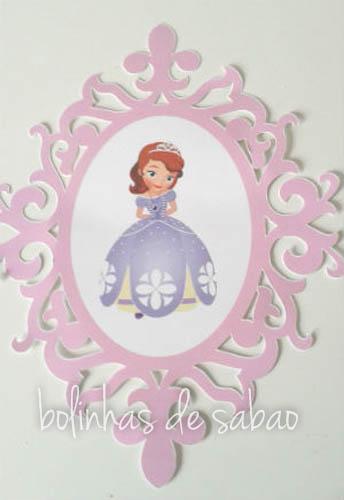 Moldura Princesa Sofia