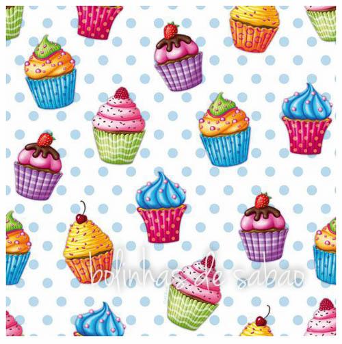 Guardanapos Cupcakes