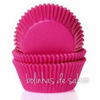 Cupcakes Lisos 60 unidades - Pink