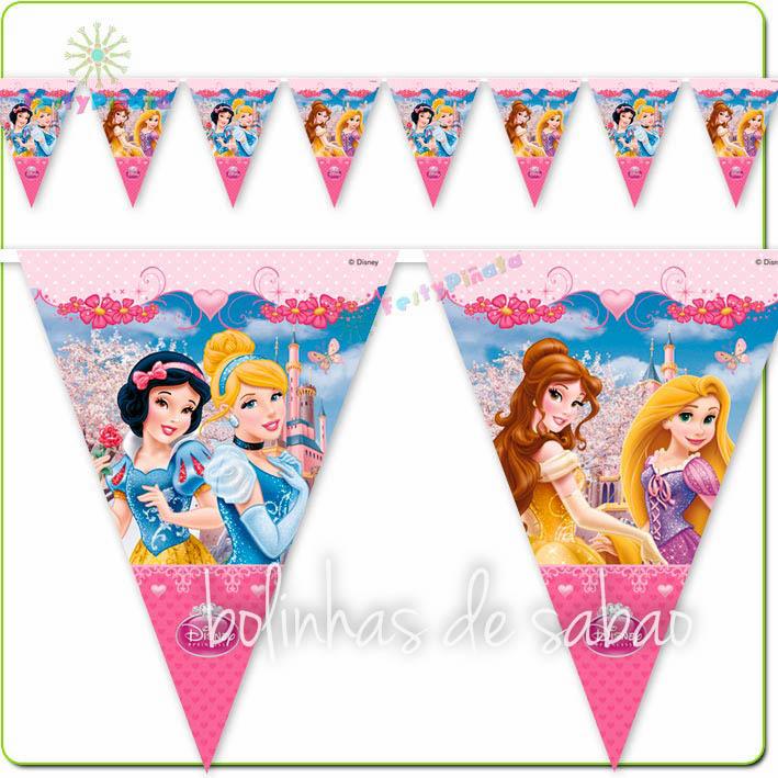 Bandeira Princesas Disney