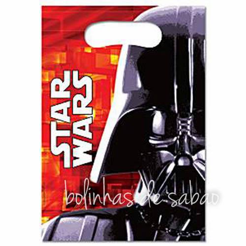 Saquetas 6 unidades - Star Wars
