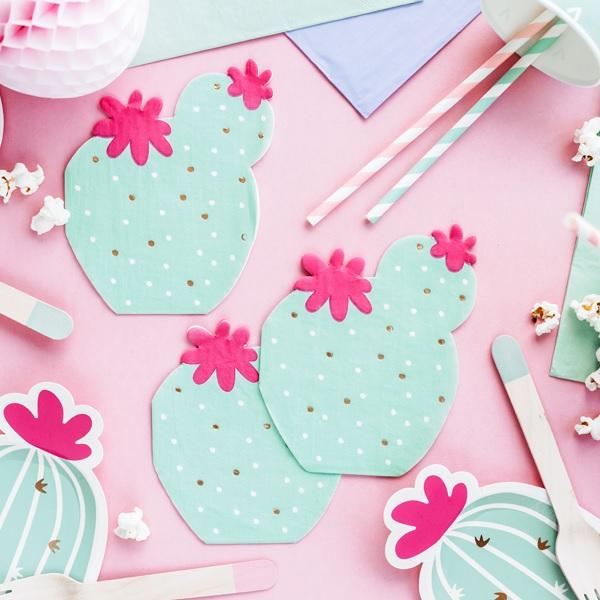 Guardanapos Cactus