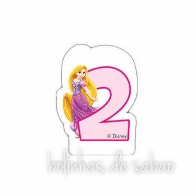 Velas Princesas - Números 1