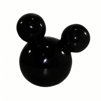 Caixa Orelhas Mickey/Minnie Preta