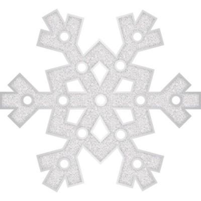 Floco de Neve Luminoso Glitter- Plástico