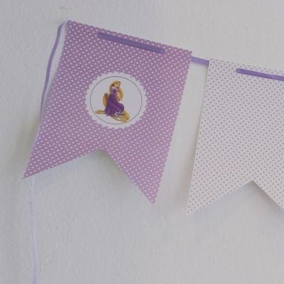 Bandeira Rapunzel