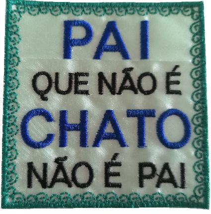 Emblema Pai Chato