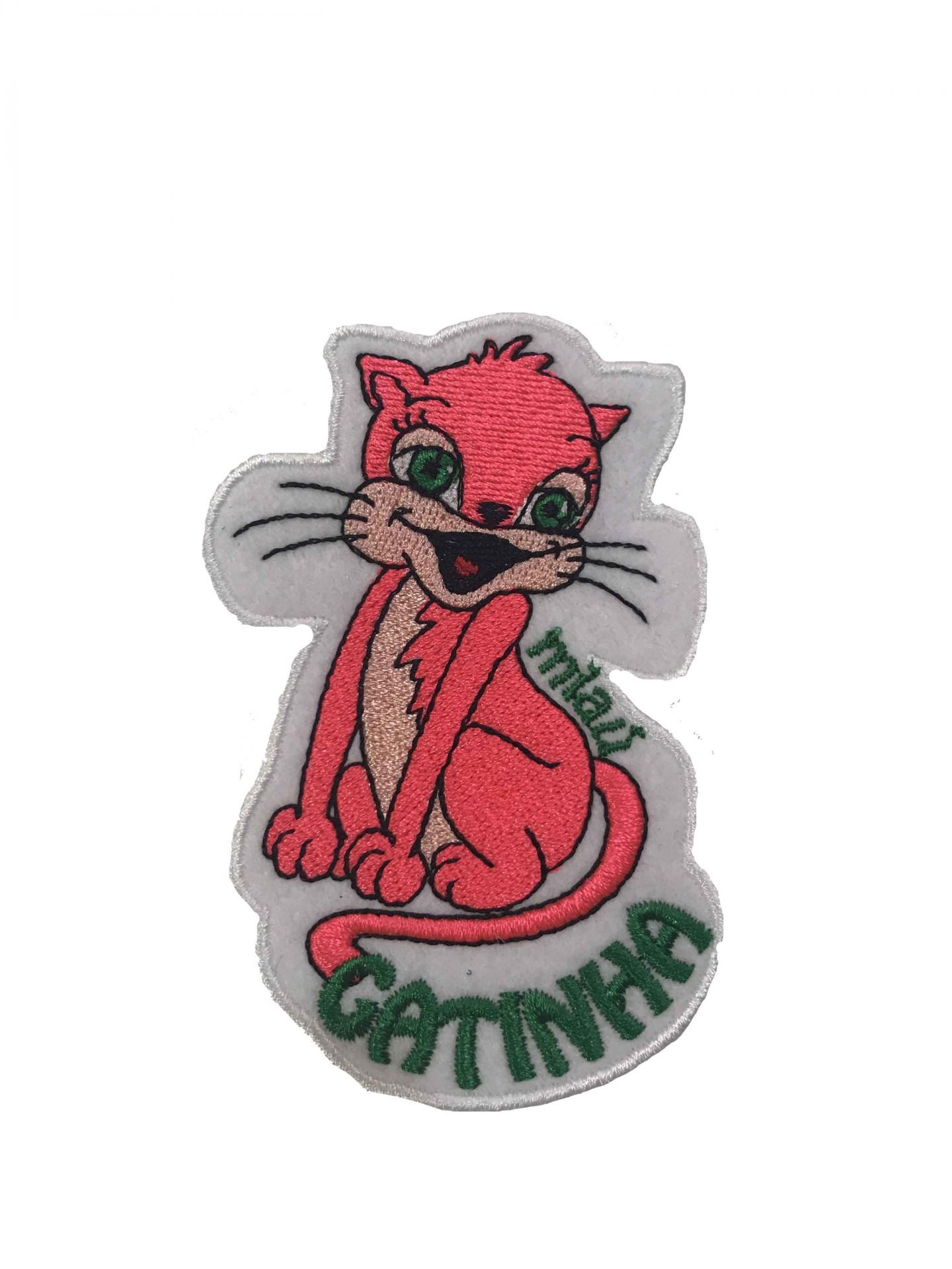 Emblema Miau gatinha