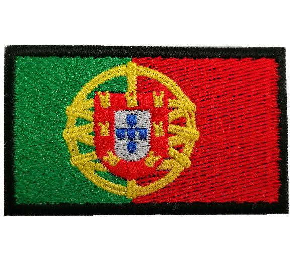 Emblema Bandeira Portugal 70x40mm
