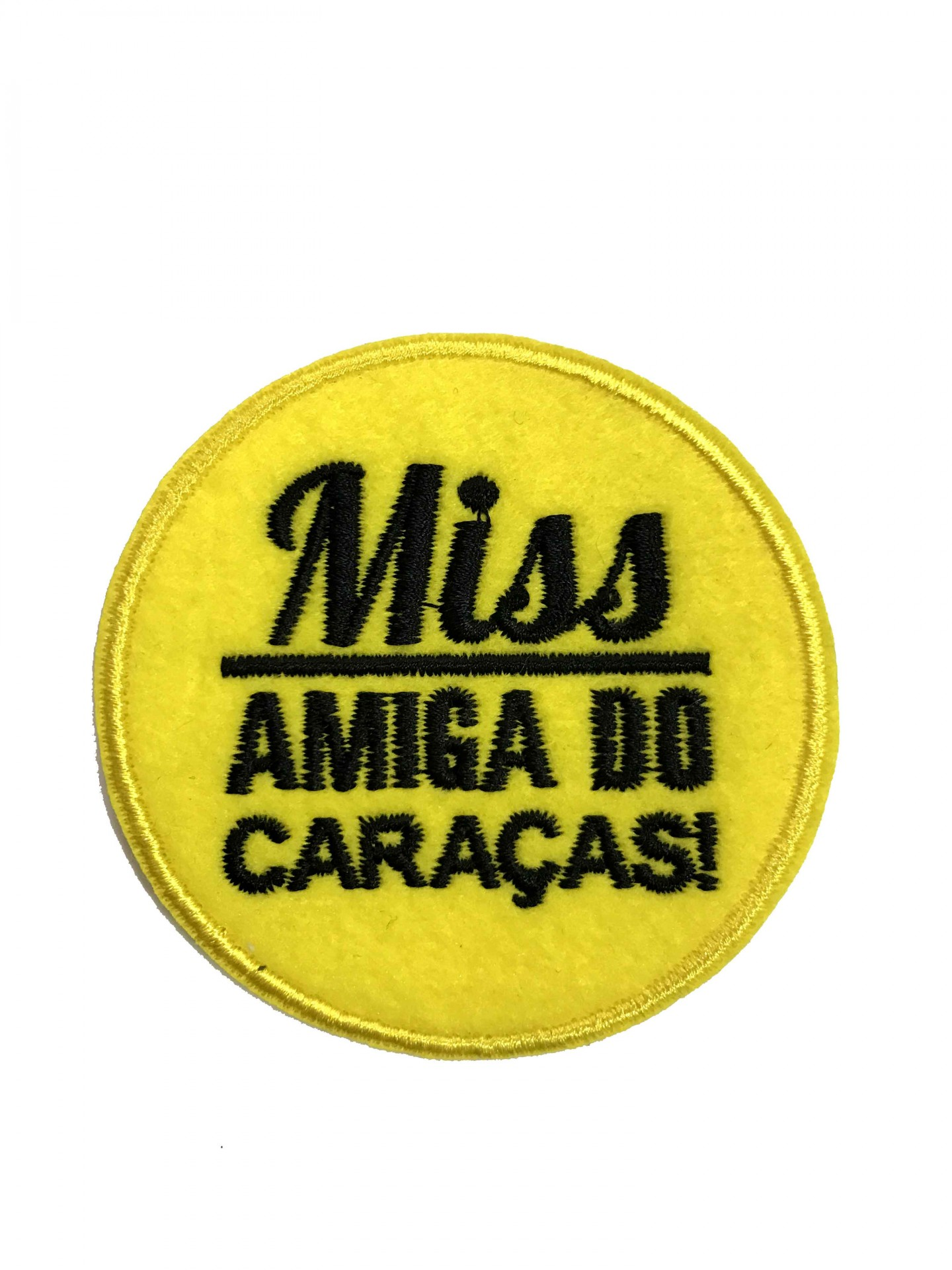Emblema Miss amiga do caraças