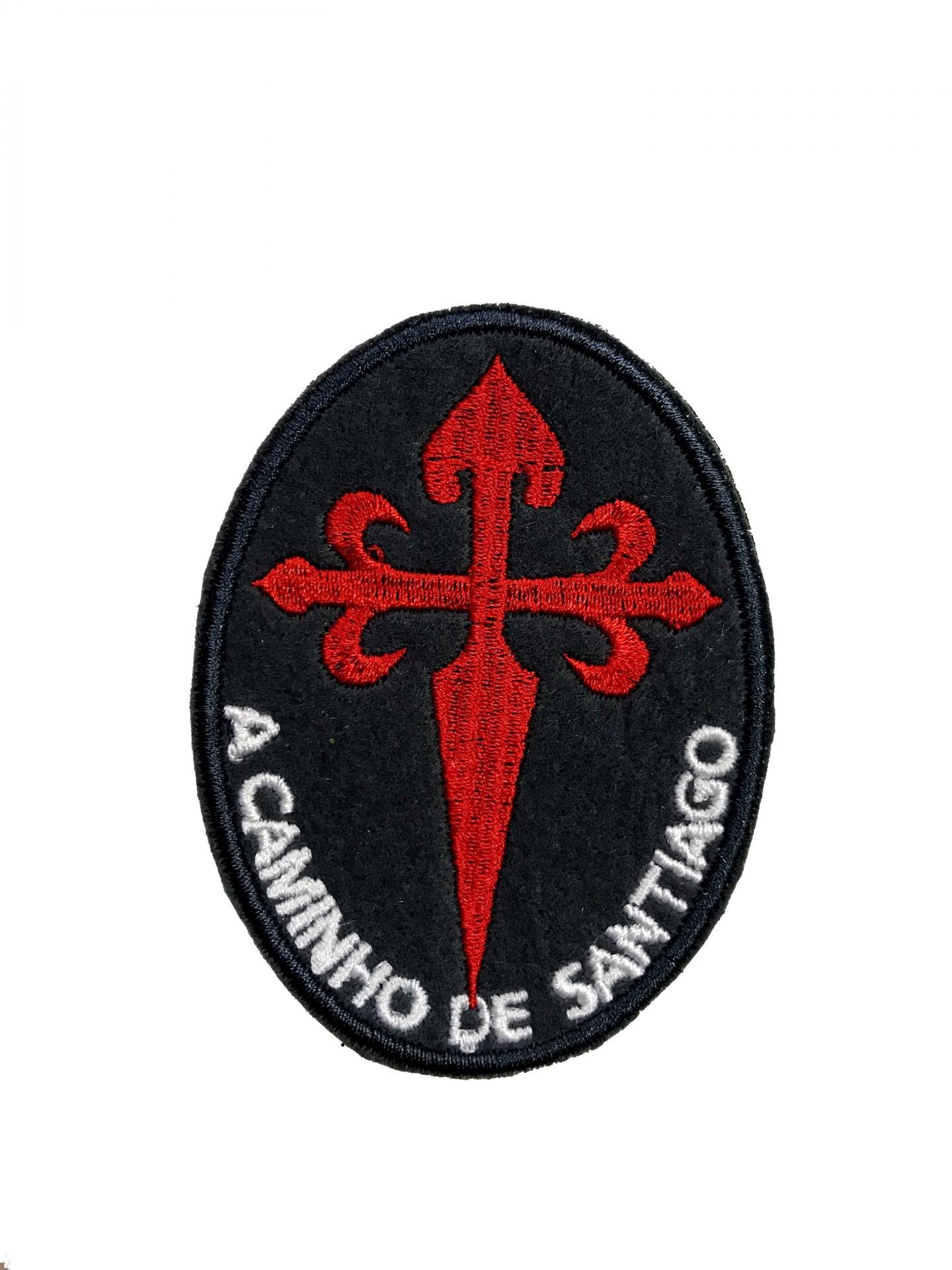 Emblema A caminho de Santiago