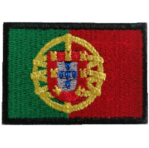 Emblema Bandeira Portugal 60x40mm
