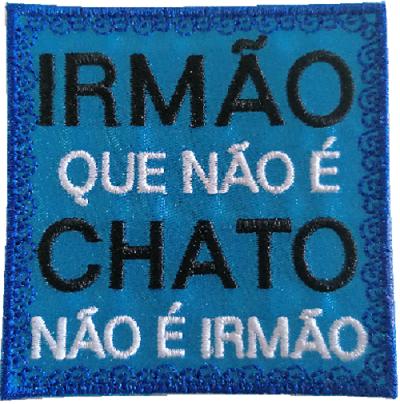 Emblema Irmão Chato