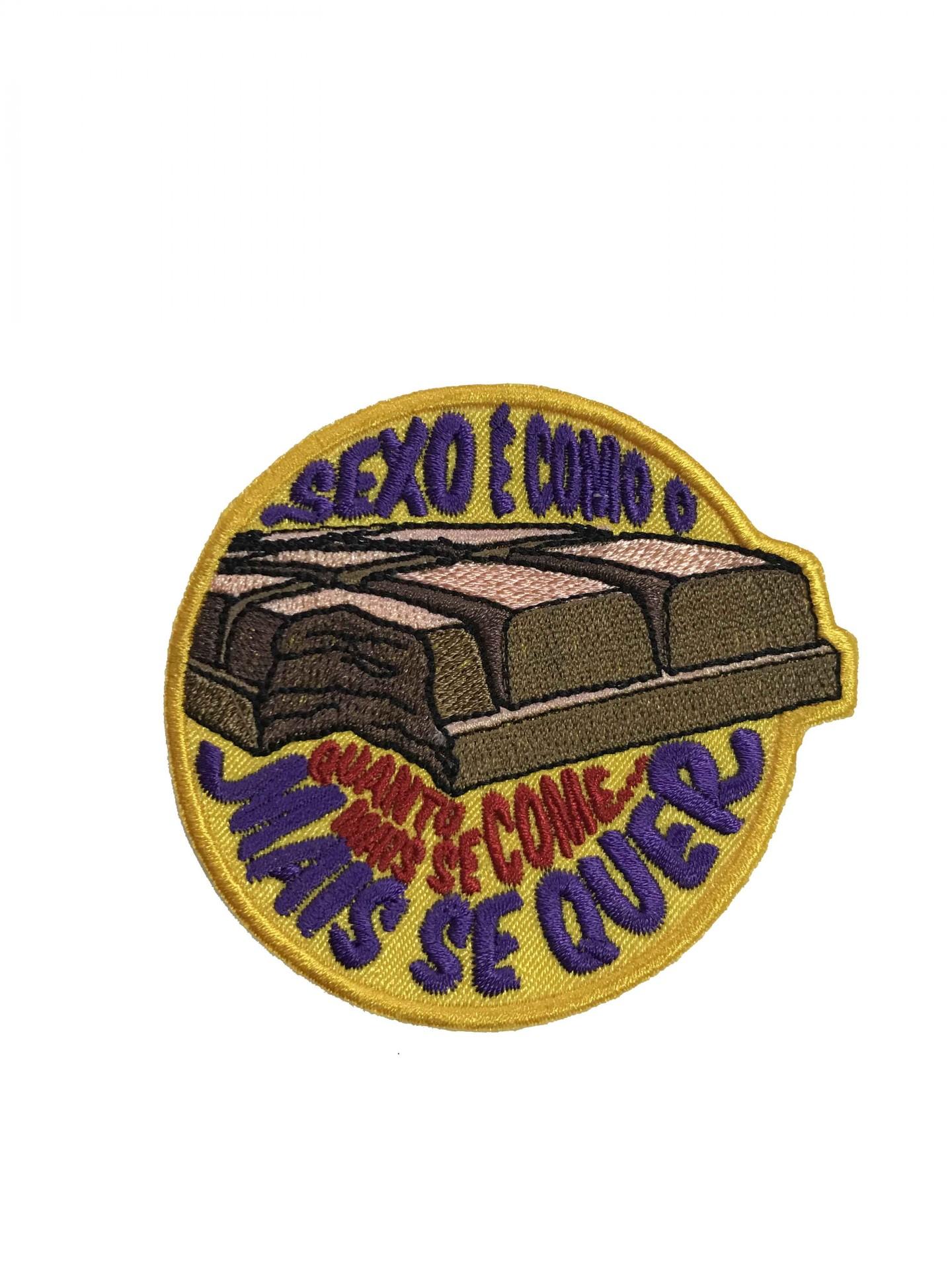 Emblema Sexo e Chocolate
