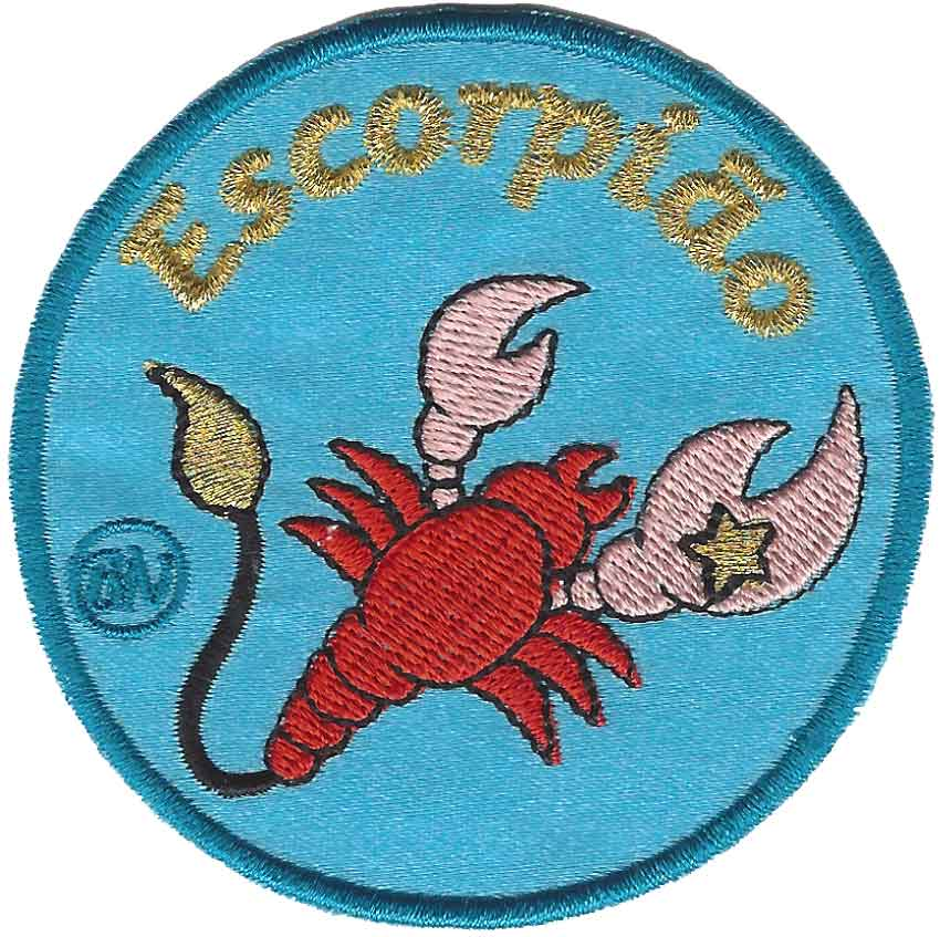 Emblema Escorpião